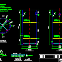 芬顿氧化塔及铁碳填料塔的设计图