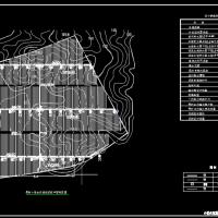 山地果树小管出流灌溉系统布置图
