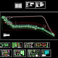 轨道交通配套的雨水箱涵改移工程设计图