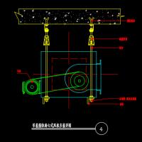 吊装箱体离心式风机安装详图