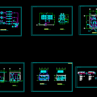 某建筑制冷机房布置平面图