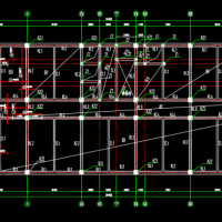 12880平米10层框架办公楼毕业设计(含计算书部分建筑及结构图)