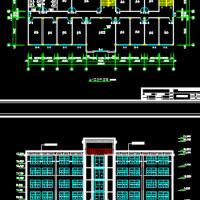 3156平米5层框架办公楼工程全套毕业设计(含图纸计算前期材料答辩ppt)