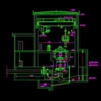 15000kw水电站厂房布置设计图