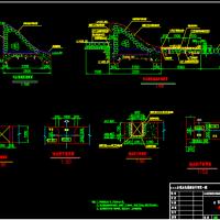 某地拦水坝维修设计图