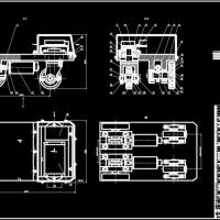 AGV自动导引小车装配图