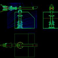 机械手课程设计CAD装配图
