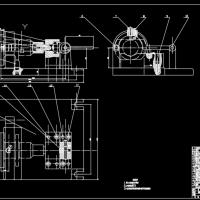 某机械夹具装配图课设CAD图