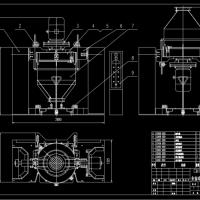 全自动混合机总装配图