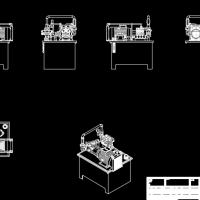 液压系统装配图