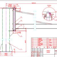 1T悬臂吊组装CAD图纸