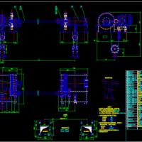 2X80KN固定启闭机总图