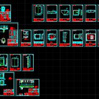 10T电动单梁起重机整套设计图纸