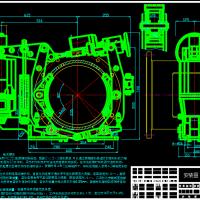 16T~40T门座式起重机回转制动器(脚踏变力制动器)