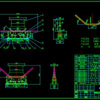 42X3.2弯管成型模CAD图纸