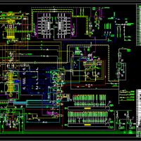 135MW机组热力系统图