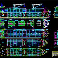 7850DWT多用途船-总布置图