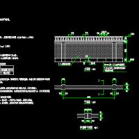 空心砖砌围墙设计图纸(可用于临建)