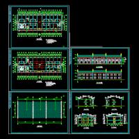 居士房古建筑建筑设计施工图