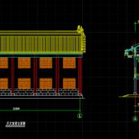 某寺院(方丈室)建筑图