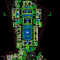 重庆宝轮寺保护修复规划与设计 总平面图