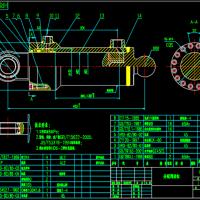 HRD-82-80-00分配阀油缸装配图