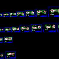R系列不同尺寸减速机