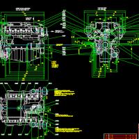 柴油机CAD设计图纸