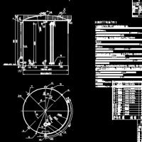 反渗透水箱CAD设计图纸