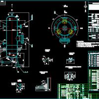 H-101高沸物罐装配图
