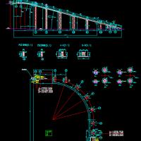 管带输送机图CAD图