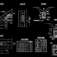盲沟一般构造CAD图纸