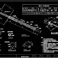 预应力锚索结构设计CAD图纸