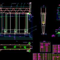 z桁架式刮吸泥机图纸(带设备表和技术参数)