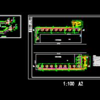 制药废气净化处理环保设计图