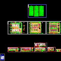 回用水项目V型滤池施工图(5万吨每天)