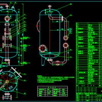 HDSL-800石英砂过滤器总图