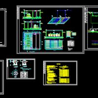 A2O+MBR工艺设计安装详细图纸