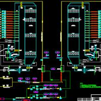SCR烟气脱硝改造工程初步设计图纸