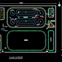 2.6万吨d污水处理厂课程设计图(含计算书)