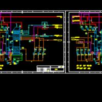 垃圾焚烧电厂脱硫除尘系统设计施工图