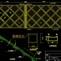 厂区边坡支护设计图纸(近10米高,含报告)