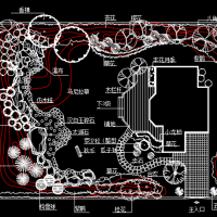 小庭院园林设计图