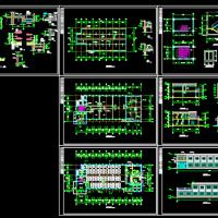 某公司2层食堂建筑施工图