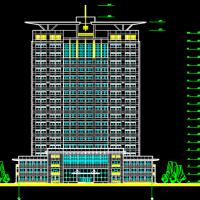 某地研究生实验楼建筑设计方案图纸