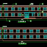 某厂区两层砌体结构宿舍楼建筑设计施工图