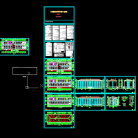 6层砖混结构宿舍楼建筑设计方案图纸