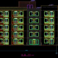 多套剪力墙结构公寓楼建筑设计图