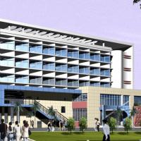某中学宿舍综合楼方案设计(东西向外窗斜面布窗)