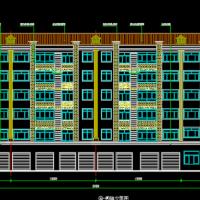 甘肃4873平为六层砌体商住楼建筑及结构施工图
